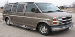 1997 Chevrolet G Series Van (G30)