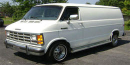1991 Dodge Ram Van B350