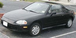 1996 Honda Civic del Sol