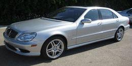 2001 Mercedes-Benz S55 AMG