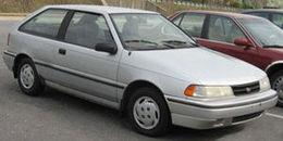 1992 Mitsubishi Precis