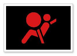 Supplemental Restraint System Srs Warning Light