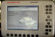 Portola Valley Garage - Porsche Systems II tester