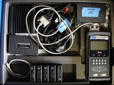 Portola Valley Garage - Baum CS2000 diagnostic platform for older Mercedes, BMW, AUDI/VW, and Volvo