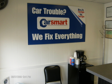CarSmart Auto Service - Customer Area