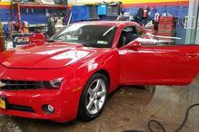 Tolima's Auto Center - 2012 Camaro candy red paint job