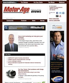 Tolima's Auto Center - the big boss on motor age magazine