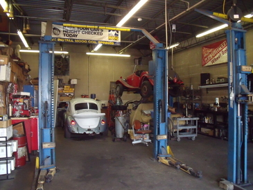 CSE Automotive - CSE upper shop, 4 bays