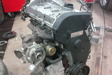 Independence Auto - An Audi 1.8L Turbo, ready to go in. These engines are reconditioned. Thoroughly flushed, internals inspected and replaced. New T-belt, Water Pump, and many other parts, installed at used engine prices