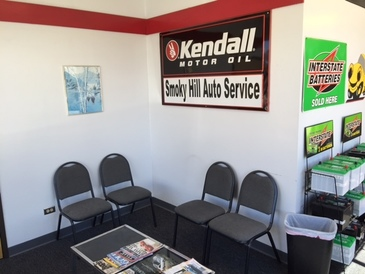 Smoky Hill Auto Service - Clean Waiting Area