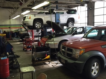 Smoky Hill Auto Service - Work Area