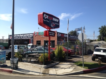 FixCarNow West LA - This is our beautiful shop on Motor Ave!!