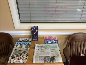 Lowell's Independent Automotive | Scion, Lexus, Toyota - We always have a nice selection of reading materials in our lobby. You can always take them with you if you're not finished with that great article! (We also have open Wi-Fi internet connections.)