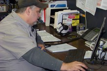 Cortland Auto Repair - This is our service manager, Brian. He will try to help you out any way he can!