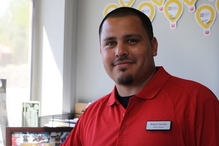 Virginia Auto Service - Service Advisor Robert Gonzales will greet you with a smile.