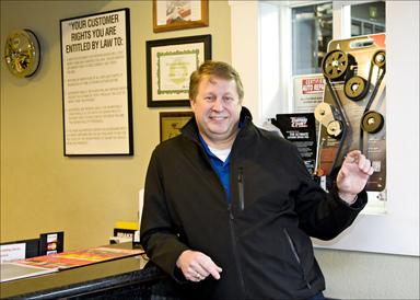 Sparks Car Care - Ken Clark, Owner