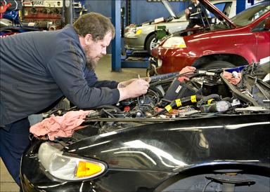 Sparks Car Care - Toby Gribble, Shop Forman
