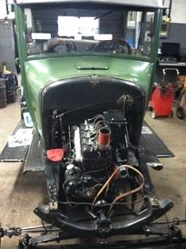 Jensen's Service Station - Model T restoration