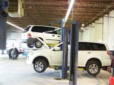 Amazing Auto Repair & Transmission - Our garage area. 5 bays.