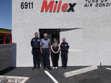 Milex Auto Service Center - Come by an meet our friendly staff. Technicians Joe & Tim, Manager Dan & CSR Karen.