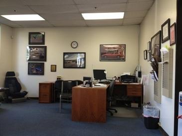 P R Motorsports - Office