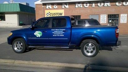 R & N Motor Company - Shop truck