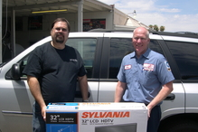 Fairway Auto Repair - Raffle winner