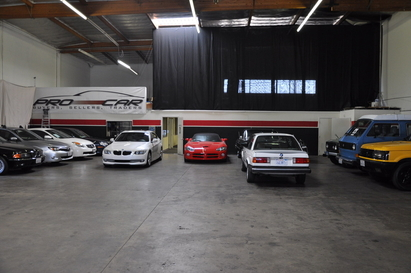 Pro Car Mechanics - Your vehicles are safe and sound indoors at Pro Car Mechanics auto repair facility.