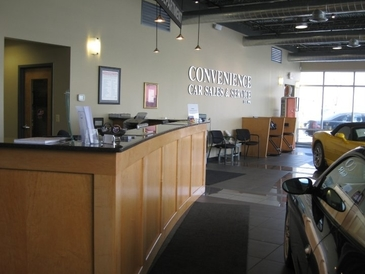 Convenience Car Care Center - Service Counter