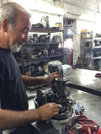 Star Transmissions - Our Master Rebuilder Tom, doing what he does best.