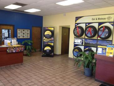Tubel's Goodyear Tire & Service Center - Clean, comfortable, customer area.