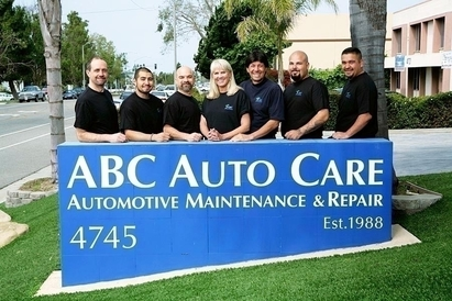 ABC Auto Care - This is the 2011 crew, we will have a 2012 updated picture (same crew but slightly older)