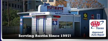 Dave's Ultimate Automotive - Our new freshly remodeled Central Austin location near 51st and Lamar. With 13 bays to serve you!
