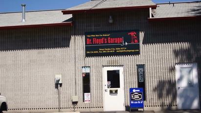 Dr Floyd's Garage - Dr Floyd's Garage Store Front