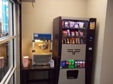 Victory AutoCare & Tire Center - If you get hungry while you wait, we've got a well stocked vending machine and free popcorn, fresh fruit and coffee.