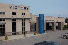 Victory AutoCare & Tire Center - We are easy to find, just come to exit 234 off of I-65 in Calera.  We are located on George Roy Parkway and on the left at the top of the hill.