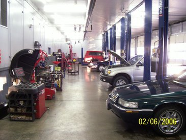 Nordonia Tire and Service - We have a clean up to date shop with the latest in repair equipment. We can service your late model car right the first time at a competitive price.