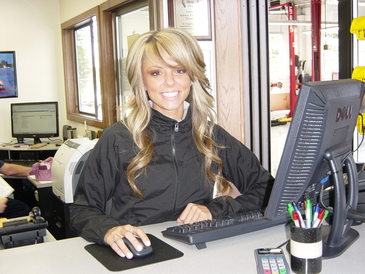 Auburn Foreign & Domestic - Natalie at our service counter