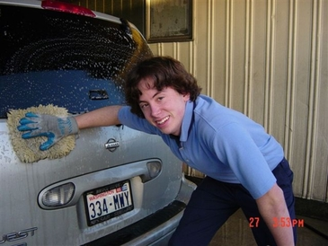 Auburn Foreign & Domestic - Alex HAND WASHING our customer's cars!!