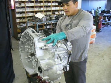 Leale's Transmissions & Auto - Juan has been with Leale's about 12 years. He's our expert transmission remover and installer.