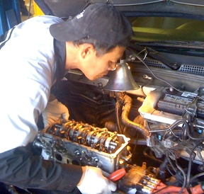 Leale's Transmissions & Auto - Here is An, our chief engine re-builder who's been working at Leale's for over 15 years.