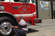 Leale's Transmissions & Auto - The local fire department has Leale's care for some of their needs.
