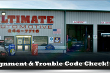 Dave's Ultimate Automotive - 12 bays our North Austin location. Free Shuttle Service