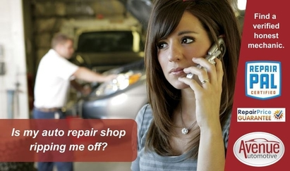 Avenue Automotive - Don't let the fear of the unknown cause you stress and worry with your next vehicle repair.  Use a shop that has a proven track record and local accountability.
