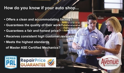 Avenue Automotive - Avenue Automotive offers all the services you require, at a price lower than comparable dealers and shops.
