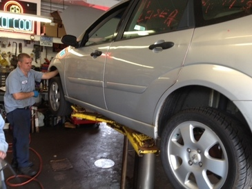 Triangle Auto Service - We employ ASE certified mechanics.  We give your car a thorough check in order to ensure a correct diagnosis the first time.  Estimate and detailed explanations are given before any repair is started