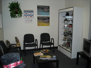 Your Car Specialists - Customer Waiting Area With Television & Free Wifi