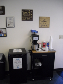 Your Car Specialists - Coffee Bar & Complimentary Cold Beverages