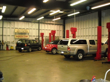Your Car Specialists - One Of The Cleanest Automotive Shops You Will Ever find!!!