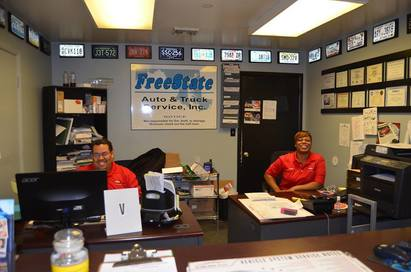 FreeState Auto & Truck Service, Inc - Where can you get top notch service on your vehicle and the friendliest most helpful staff? FreeState!